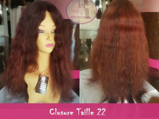 Closure taille 22